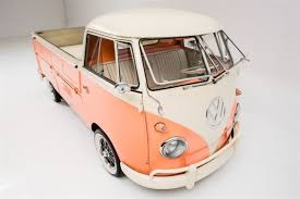 1960 Volkswagen Vanagon Peaches & Cream Manual Pickup Truck for sale ...