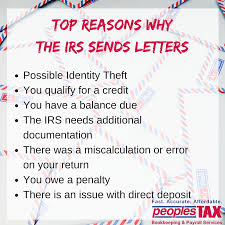 care of letter seven things to do when an irs letter arrives peoples income tax