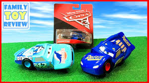 cars 3 toys fabulous lightning mcqueen race reck jackson storm disney cars 3 live toy unboxing