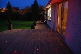 decking lighting. this fibre optic deck lighting project is divided into two zones decking 5