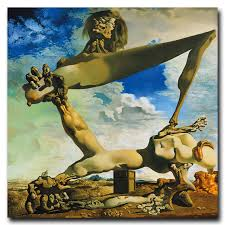classic abstract painting salvador dali surreal artwork vintage art silk poster home decor 16x16 24x24 30x30 inch free in painting calligraphy