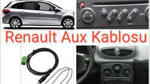 Renault Clio 3 Megane Teyp Aux Kablosu Montajı - YouTube