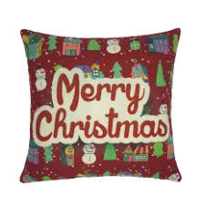 christmas pillows on sale. Perfect Pillows Practical Promotions Christmas Pillow Case Tree Santa Claus Deer  Elk Cotton Linen Throw Throughout Pillows On Sale