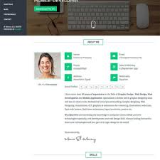 resume sites. Best Html Resume Templates For Awesome Personal Sites For Resume