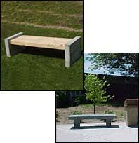 My Company Benches U0026 TablesStone Benches With Backs