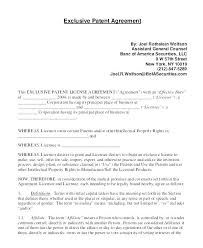 Export Contract Sample Best Exclusive Rights Agreement Template Psychicnightsco