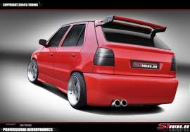 Tuned cars from all the world. Skoda Felicia Rear Bumper S Tuning