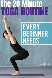 are you a plete beginner to yoga this 20 minute yoga routine for beginners will
