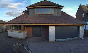 3170 pixels hormann titan metallic thermoplus with matching hormann fully insulated sectional garage door
