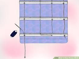 how to make roman blinds. Delighful Make Image Titled Make Roman Blinds Step 27 Throughout How To