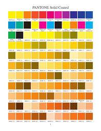 Pantone Solid Coated Color Charts Free Pdf Via Slideshare