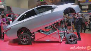850 HP 2015 Toyota Camry TRD Sleeper Dragster at #SEMA2014 - YouTube