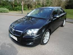 Used Black Magic Metallic Toyota Avensis for Sale | West Sussex