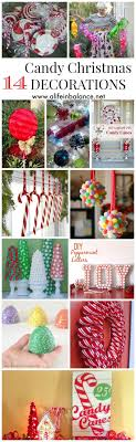 Candy Decorations 25 Best Candy Christmas Decorations Ideas On Pinterest Candy