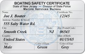 Jersey Get Certificate To How Safety New Replacement Boat A