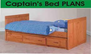 woodwork plans to build a queen size captains bed pdf plans captains bed queen plans