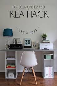 ikea small office. 20 cool and budget ikea desk hacks ikea small office
