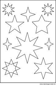 Sternen Vorlage Weihnachten Basteln Vorlagen