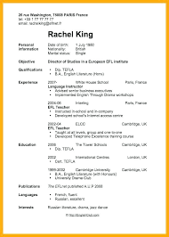 Resume Template For Students First Job Basic Resume