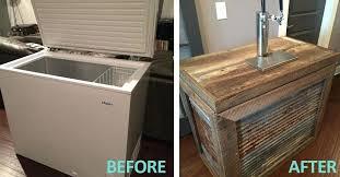 kegerator cabinets diy small refrigerator cabinets