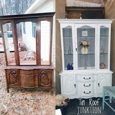 Wire Mesh For Cabinets China Cabinet Makeover With Farmhouse Paints Square Wire Mesh A