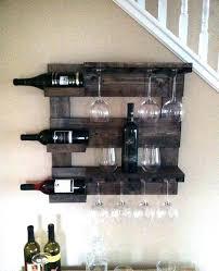 wall wine racks wall wine rack like this item wood wall wine rack plans wall mounted