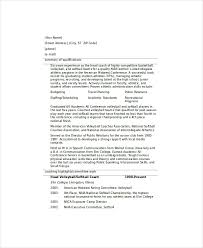 Football Coaching Resume Template Soccer Coach Resume Template Magdalene Project Org