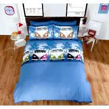 um image for duvet covers for guys boys campervan duvet cover a teenage multi coloured navy