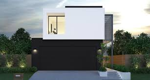 Frontage House Designs Double Storey 8m Frontage V2 Zauss House