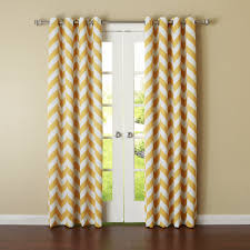 yellow chevron blackout curtains target for windows covering ideas