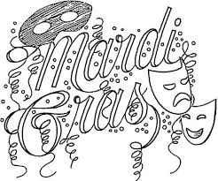 Small Picture Festival Of Mardi Gras coloring page Free Printable Coloring Pages