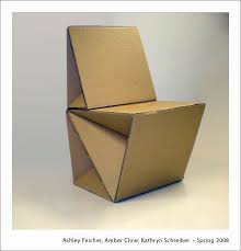 cardboard furniture design. cardboard chair college of arts and sciences gallery student works chairs furniture design v