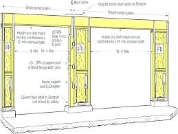Commercial Garage Door Size Chart Garage Door Sizes Chart Elkabar Info