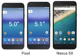 nexus 6p size comparison google pixel and pixel xl sized up against each other and the nexus