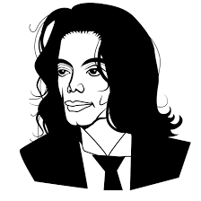 Vector Portrait Of Late American Singer Musician And Producer