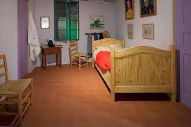 reconstruction of van gogh s bedroom in arles