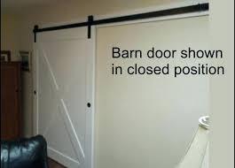 30 inch barn door inch barn door with x pattern and exposed track hardware interior 30