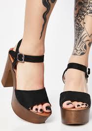 walk in the park platform sandals