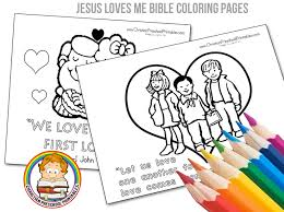 Small Picture Valentines Day Bible Coloring Pages