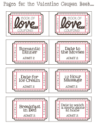mommy by day crafter by night printable valentine coupon book printable valentine coupon book
