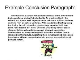 Write Conclusion Paragraph Narrative Essay You Must Create