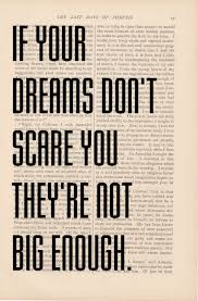 If Your Dreams Don T Scare You Quote Best of Etsy Motivational Quote Dictionary Art If Your Dreams Don't Scare