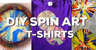 Make Your Shirt Make Your Own Spin Art T Shirts Great For Field Day The