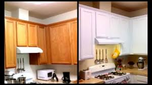 Now, it's time to begin the selection of your paints. Paint Cabinets White For Less Than 120 Diy Paint Cabinets Youtube