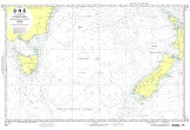 Noaa Charts Australia Nga Chart 601 Tasman Sea New Zealand To S E Australia