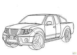 coloring coloring page transportation pickup trucks pages printable ford truck