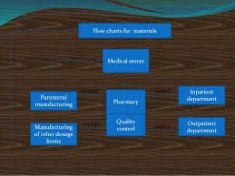 Organizational Chart Of A Drugstore Organization Of Hospital Pharmacy Slides
