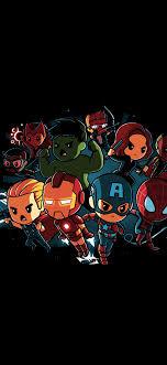 Cartoon Superheroes iPhone X Wallpapers ...