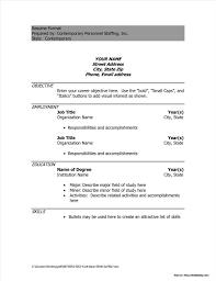 Attractive Resume Templates Free Download Attractive Resume Templates Free Download Doc Resume Resume 26