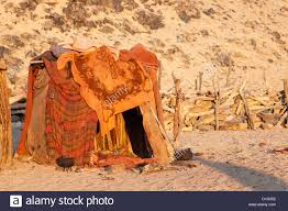 Patterned Blankets Custom Himba Hut Covered With Patterned Blankets Purros Himba Village
